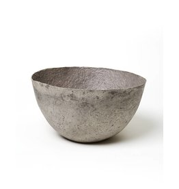 Far & Wide Collective Large Solid Grey Pulp Bowl