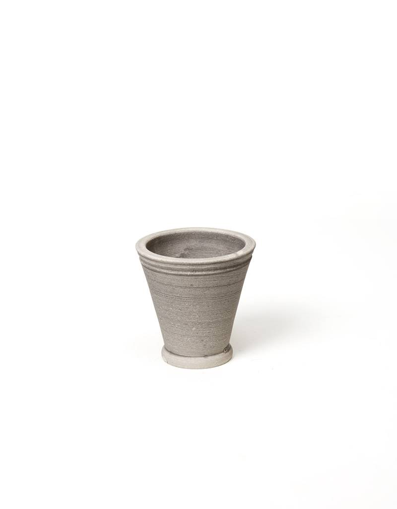Ben Wolff #1 Footed Herb Grey Pot