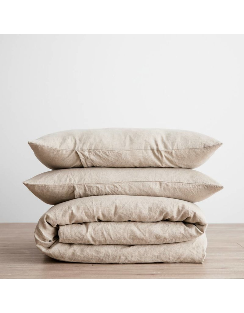 Cultiver Natural Linen Duvet Set