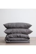 Cultiver Charcoal Linen Duvet Set