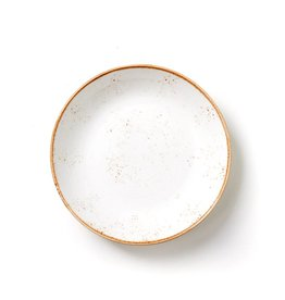 Craft White Shallow Bowl
