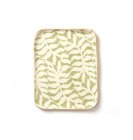 Terrafirma Ceramics Tidbit Tray Citrus Fern
