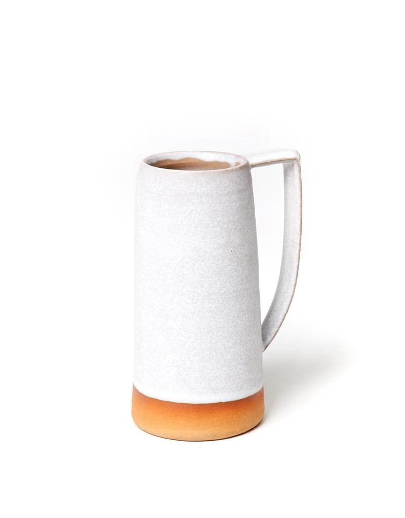 Shelter Collection White & Natural Tea Stein