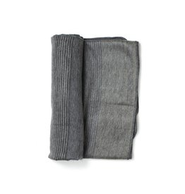 Shupaca Charcoal Alpaca Throw