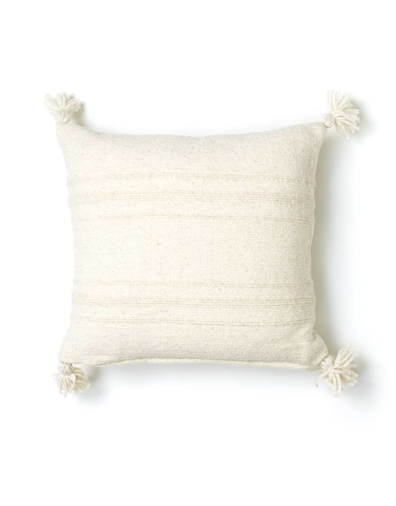 Territory Design Cream Puro Wool Pillow