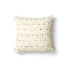 "Territory Design Loops Wool Pillow- 20""x20"""