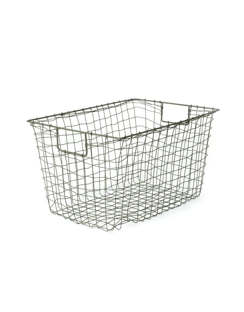 Fog Linen Standard Wire Basket