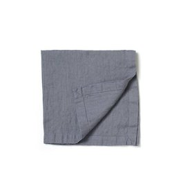 Not Perfect Linen Dark Graphite Linen Napkins S/4