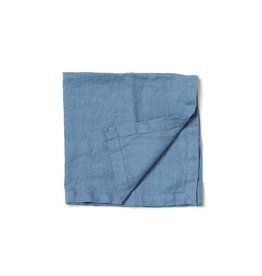 Not Perfect Linen Petrol Blue Linen Napkins S/4