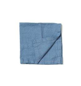 Not Perfect Linen Petrol Blue Linen Napkins S/4