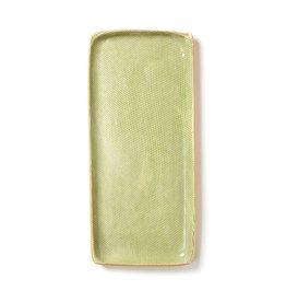 Terrafirma Ceramics Handmade Tray Citrus Honeycomb