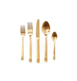 Canvas Home Oslo Place Setting - Matte Gold