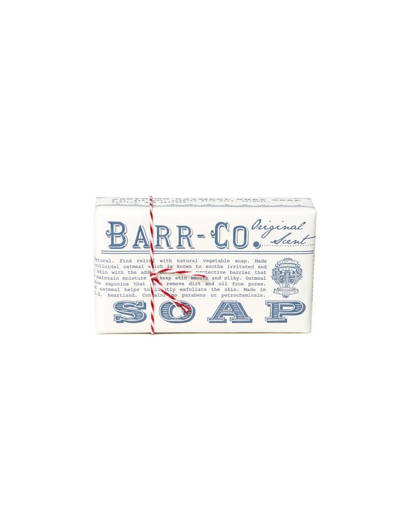 K. Hall Studio Barr Co Wrapped Bar Soap