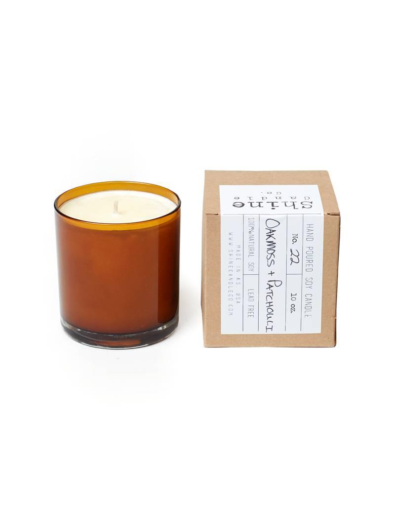 Shine Candle Co Amber Oakmoss + Patchouli Candle