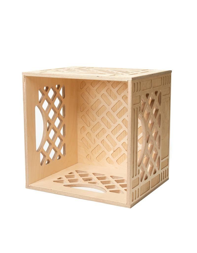 WAAM Standar Wood Milk Crate