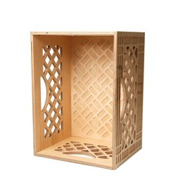 WAAM Long Wood Milk Crate
