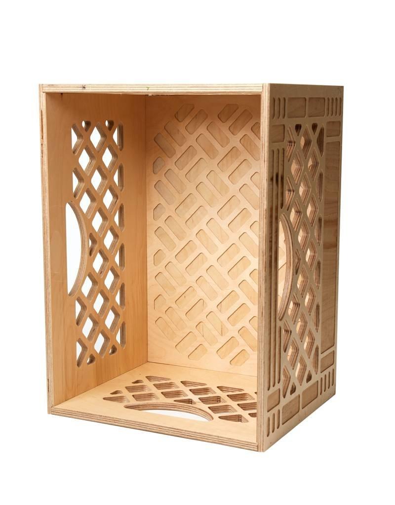 WAAM Long Wood Milk Crate