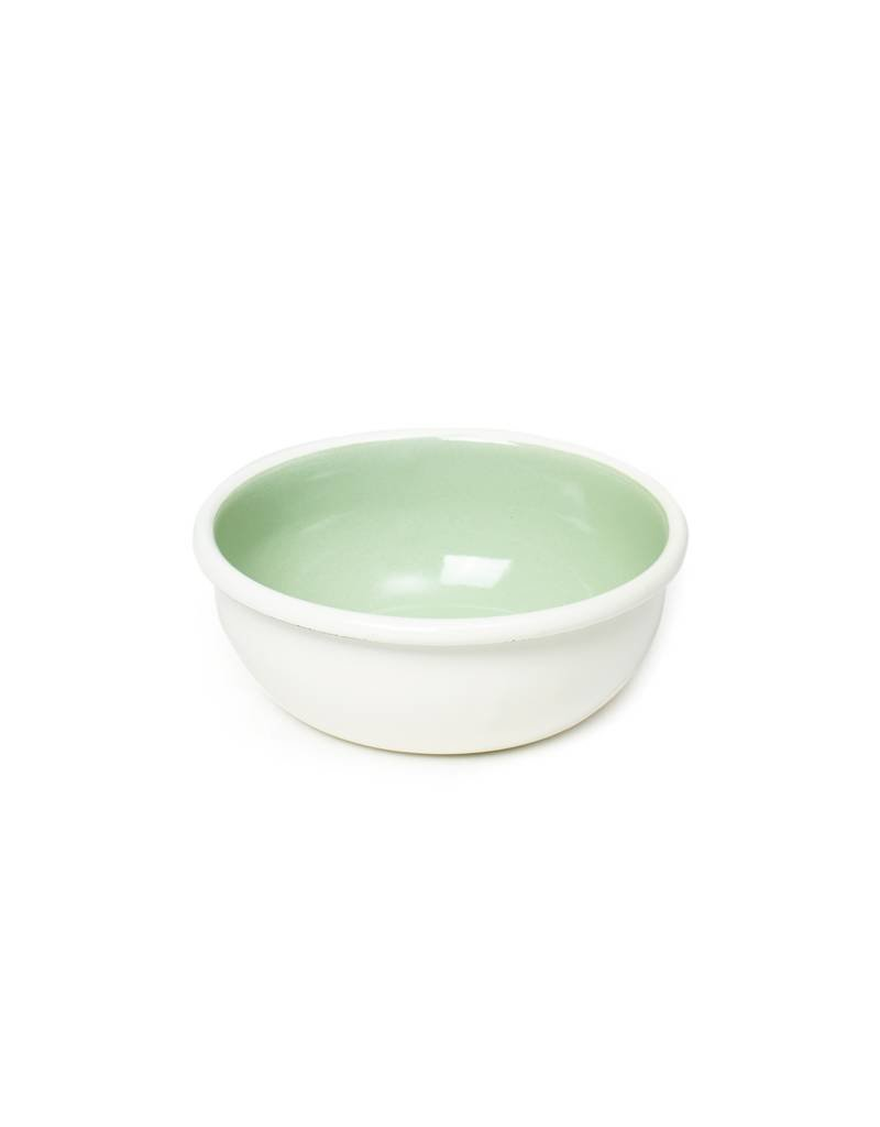 Bornn Enamelware Mint Bloom Bowl
