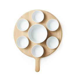 LSA International Paddle Tapas Set & Oak Paddle