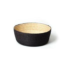 Makaua Frutero Palm Leaf Basket Carbon