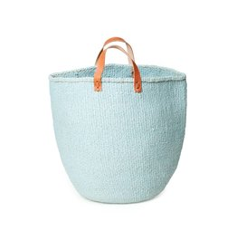 Mifuko Kiondo Basket Light Blue Large