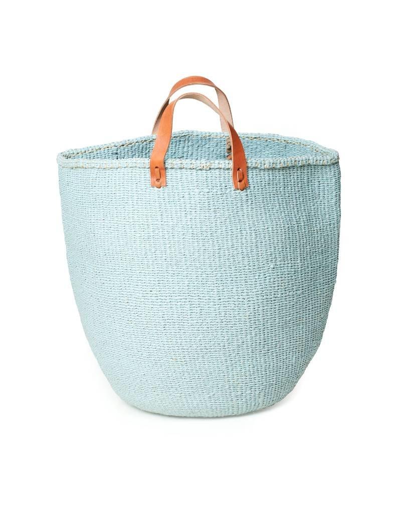 Mifuko Kiondo Basket Light Blue Large