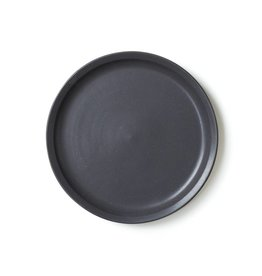 Era Ceramics Handmade Cena Dinner Plate Black
