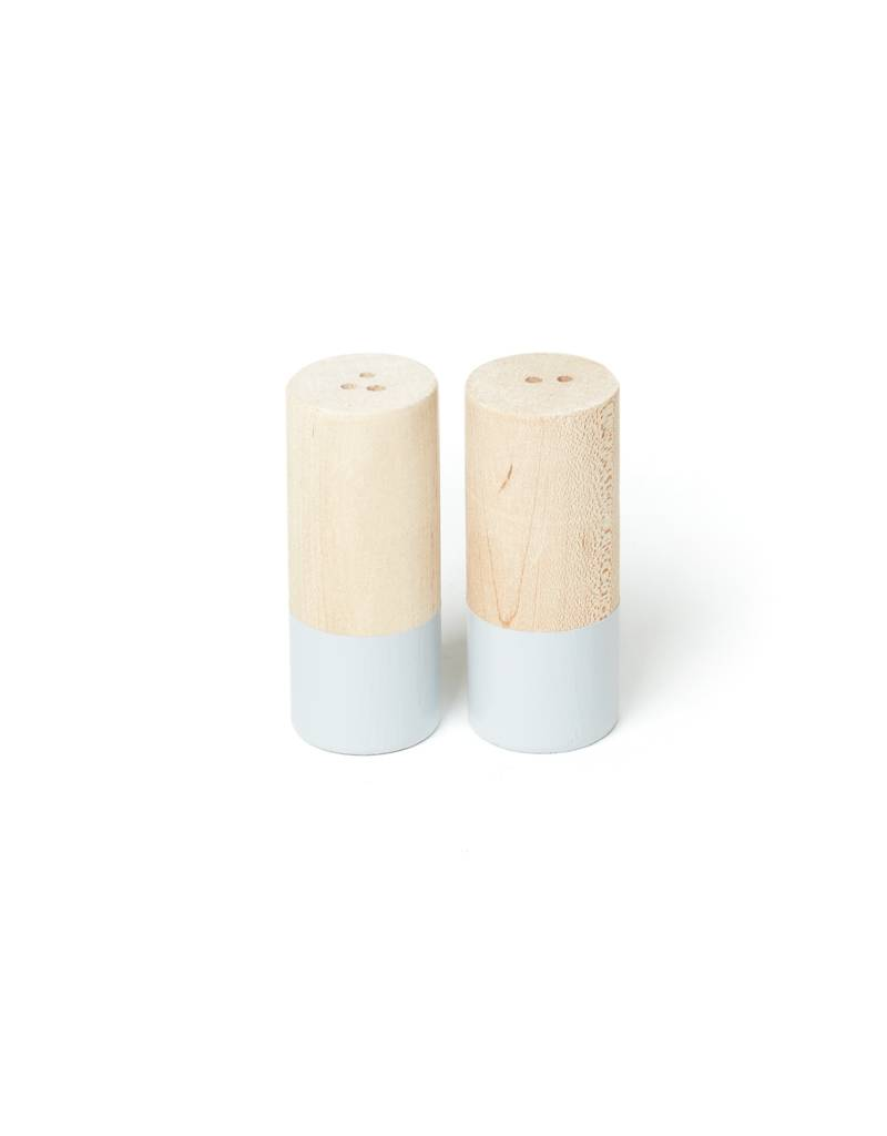 For the Host Grey Dipped Salt and Pepper Shaker, Large