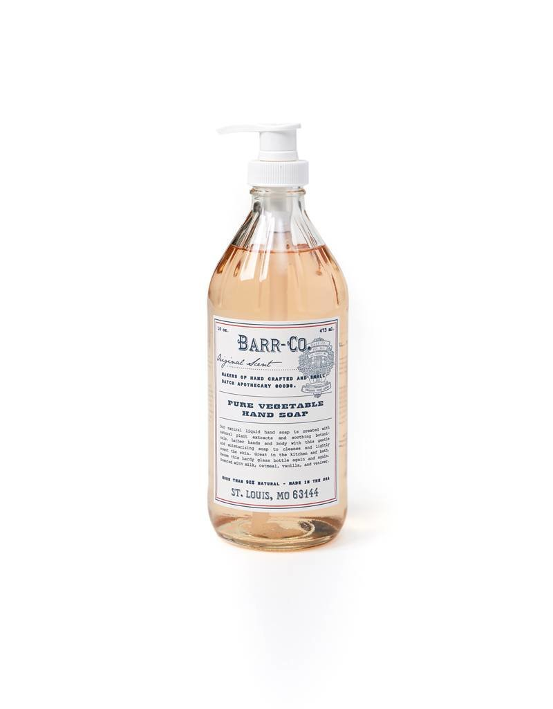 K. Hall Studio Barr Co Liquid Hand Soap