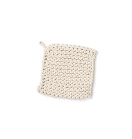 Danica Studio Cream Knit Pot Holder