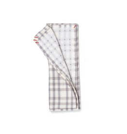 Small Gunns Gray Checks & Dots Tea Towel