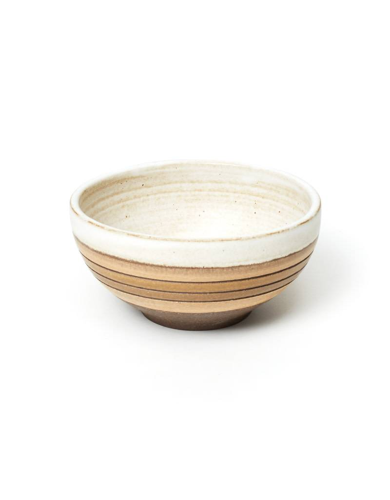 Veak Ceramics Natural Striped Bowl