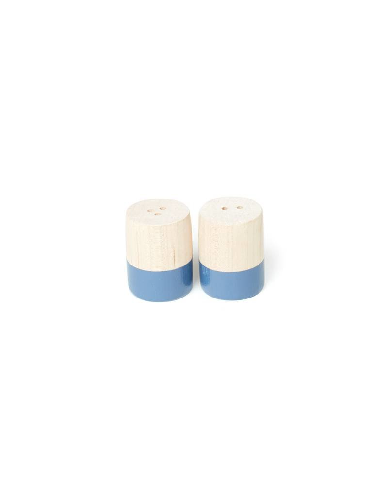 For the Host Sailor Blue Dipped Salt & Pepper Shaker, Mini