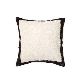 Meso Goods Edges Black Wool Pillow