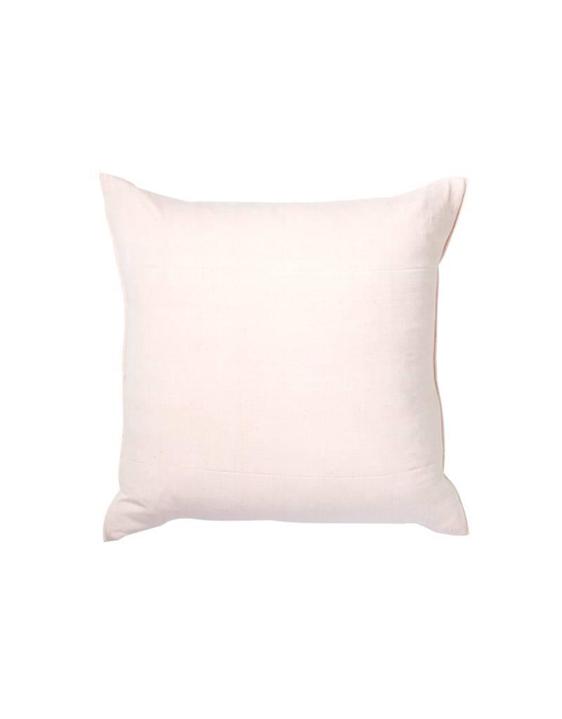 Tensira Handwoven Pale Pink Pillow
