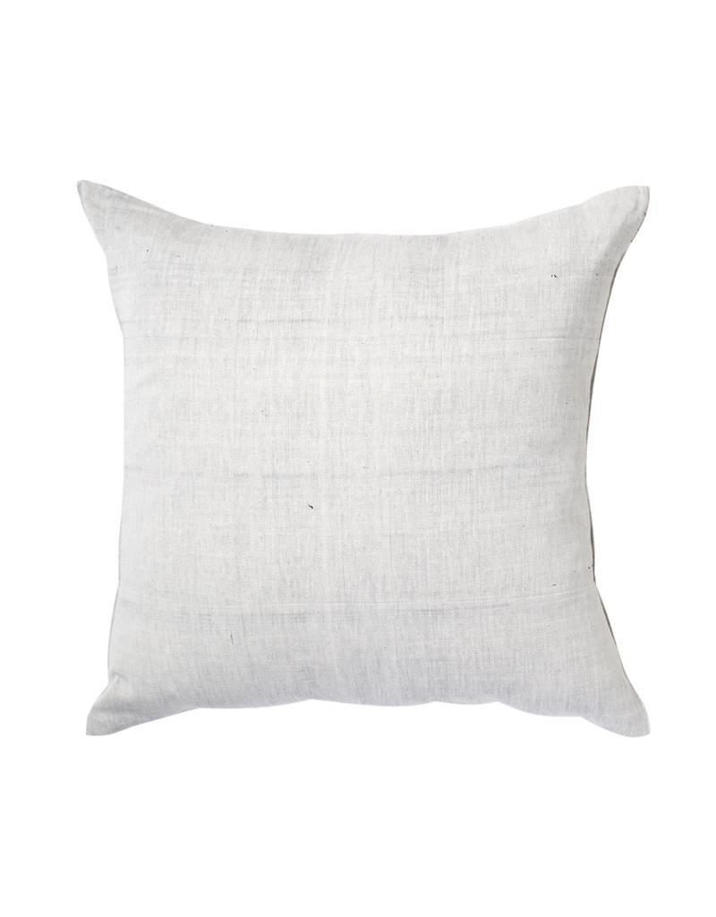 Tensira Handwoven Pale Black Pillow