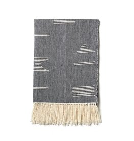 Minna Shapes Tea Towel Gray