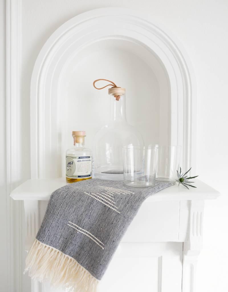 Minna Shapes Tea Towel Gray