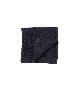 Morihata Navy Lattice Washcloth