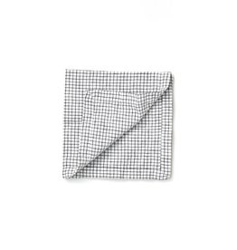 Not Perfect Linen Small Checks Linen Napkins