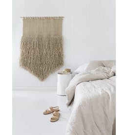 The Dharma Door Jute Fringe Jumbo Wall Hanging