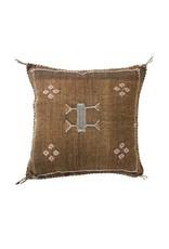 Bryar Wolf Bou Pillow