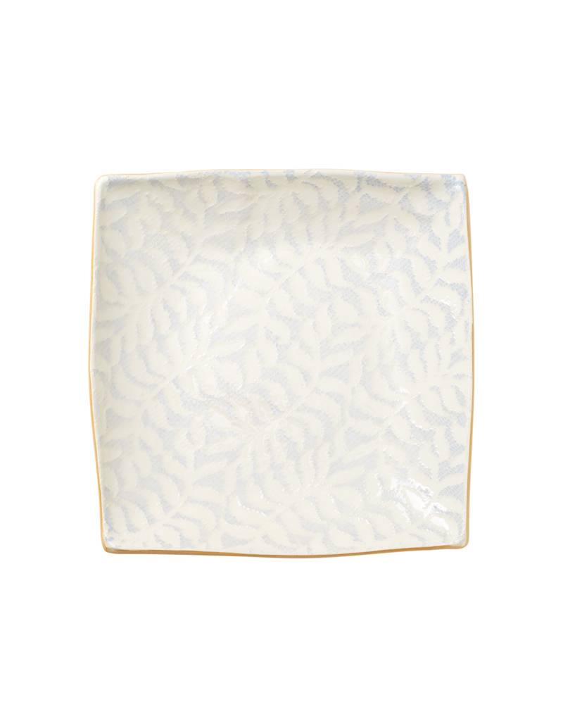 Terrafirma Ceramics Opal Fern Square Tray