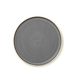 Sheldon Ceramics Silverlake Dinner Plate Charcoal