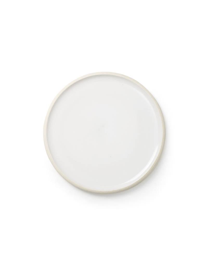 Sheldon Ceramics Silverlake Salad Plate Classic White