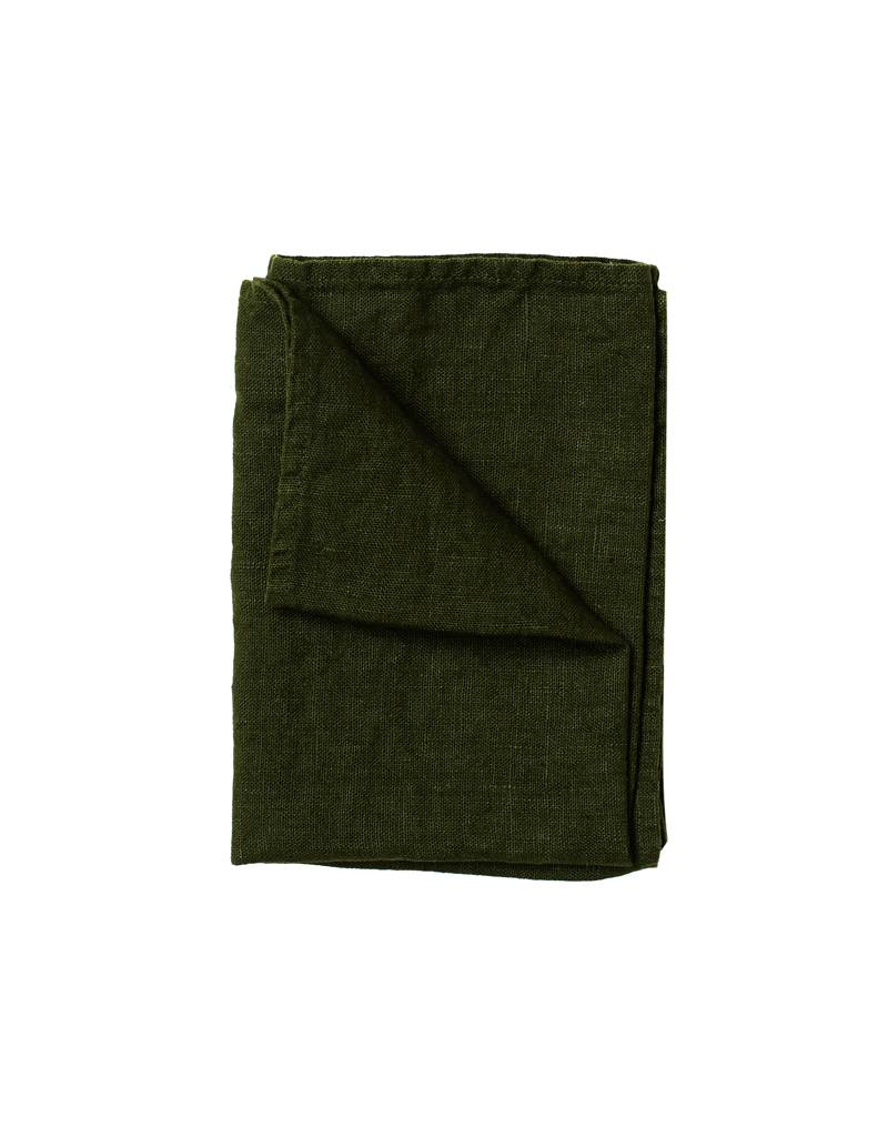 Fog Linen Laurel Thick Linen Kitchen Towel