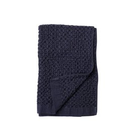 Morihata Navy Lattice Hand Towel