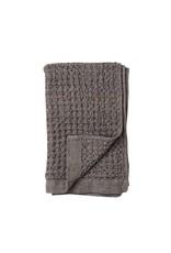 Morihata Gray Brown Lattice Hand Towel