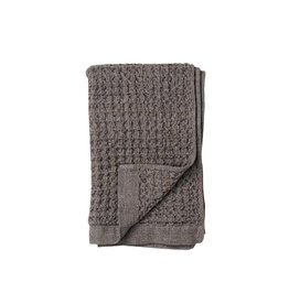 Morihata Gray Brown Lattice Hand Towel