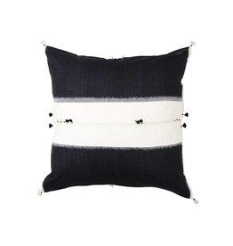 Injiri Seren Black and White Dyed Pillow